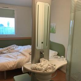 Our budget hotel - AKA Rhe shears quater